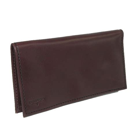 Leather Covers by Smooth Leather Checkbook Cover By Boston Leather