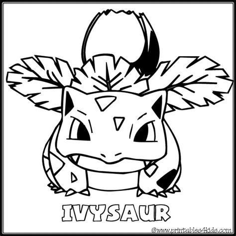 pokemon coloring pages ivysaur pokemon ivysaur coloring pages images pokemon images