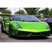 Fondos De Pantalla Lamborghini Gallardo Superleggera Green