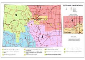colorado dot map region boundary map colorado department of