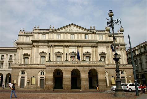 milan opera house la scala opera house in milan italy wallpapers and images wallpapers pictures photos