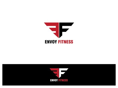 e design upmarket modern logo design for envoy fitness by remith