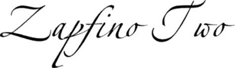 zapfino tattoo font zapfino two premium font buy and download