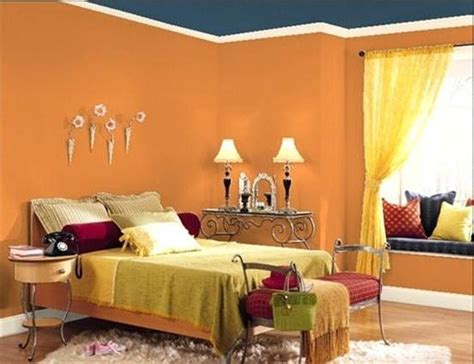 orange bedroom walls 154 best orange blue rooms images on