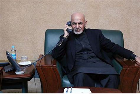 what phone does president use ghani fm discuss regional security the daily outlook afghanistan