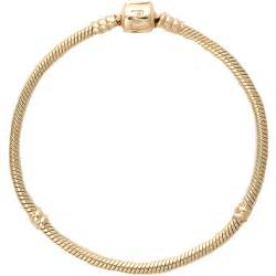 Pandora gold charm bracelet beautiful 14k gold pandora bracelet with