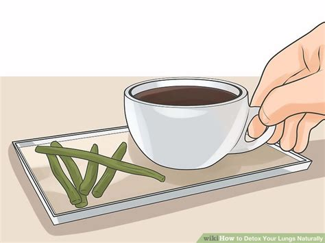 How To Make Detox Water Wikihow by Expert Advice On How To Detox Your Lungs Naturally Wikihow