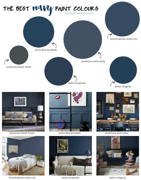 best blue paint colors the best navy paint colours