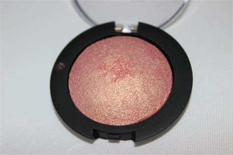 Review Pixy Eyeshadow Bronze Delight e l f 3 00 baked eyeshadow review