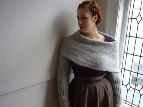 free knitting patterns shawl with sleeves sleeve scarf free knitting patterns pinterest