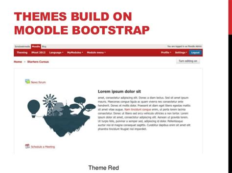 themes bootstrap construction building a moodle theme with bootstrap