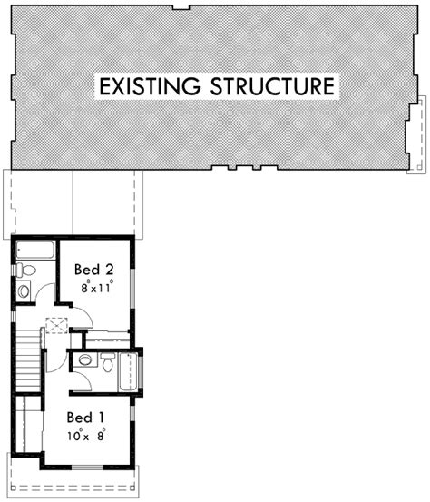 house plans with adu adu house plans accessory dwelling unit plans 10137