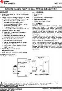g1 smd transistor datasheet bq27410 g1 datasheet system side impedance track fuel with direct