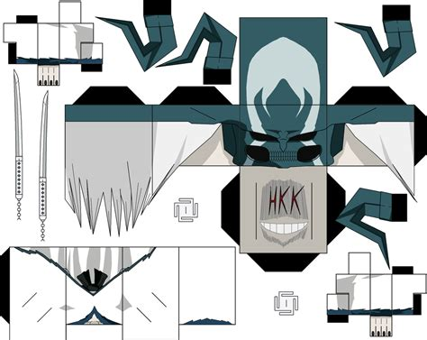 Ichigo Papercraft - vasto lorde hollow ichigo by hollowkingking on deviantart