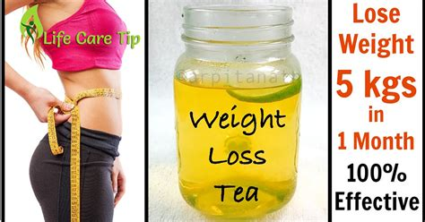 One Month Detox Weight Lose by Detox Tea To Lose 5 Kg Weight In One Month