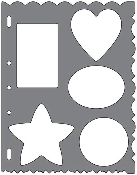 shape templates fiskars shape template shapes discount designer fabric