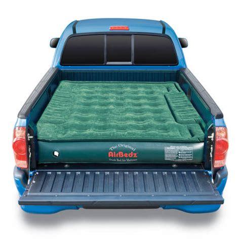 truck bed air mattress airbedz lite truck bed air mattress cing sleep pick up