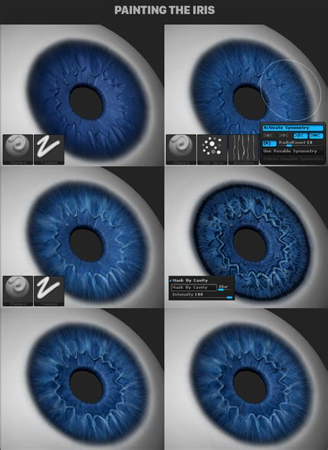 zbrush tutorial eyes make an eye with zbrush free model jhill xyz