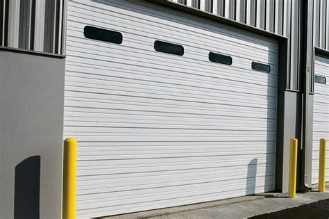 overhead door of sectional steel doors