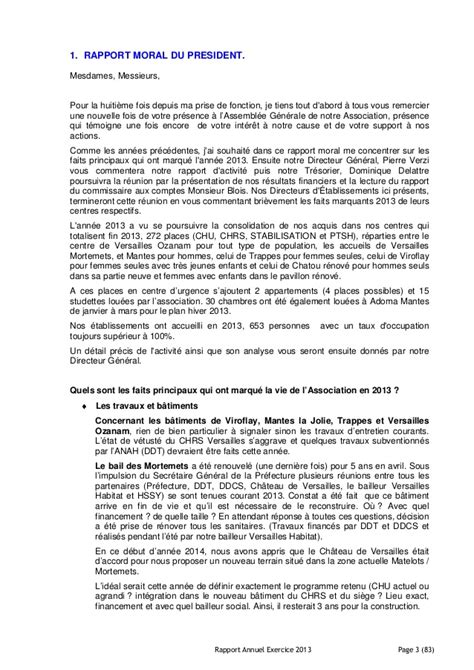 Rapport annuel exercice 2013 pdf