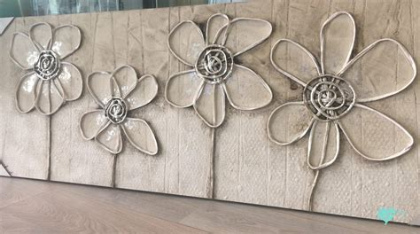 cuadros con relieve abstractos comprar cuadro flores relieve 150x60 tienda de cuadros
