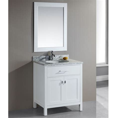 White 30 Inch Bathroom Vanity 30 Inch Single Sink White Bathroom Vanity Set