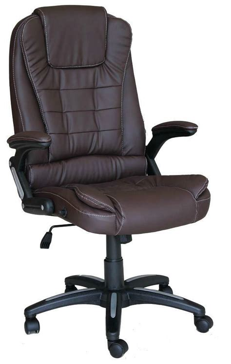 Reclining Office Desk Chair - deluxe reclining office chair executive home computer desk