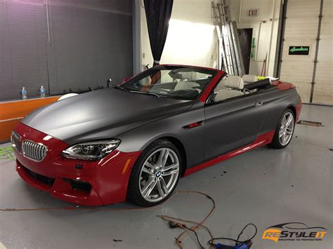 matte grey bmw matte metallic grey bmw 650 vehicle customization shop