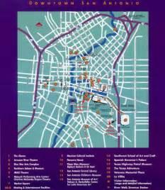 downtown san antonio map tourist
