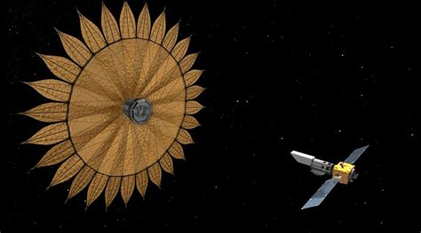 Origami Telescope - starshade search for other earths boosted by origami