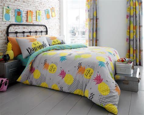 pineapple bedding pineapple floral modern duvet cover bedding quilt set all