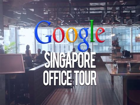 google office tour google singapore office tour coolest places in singapore