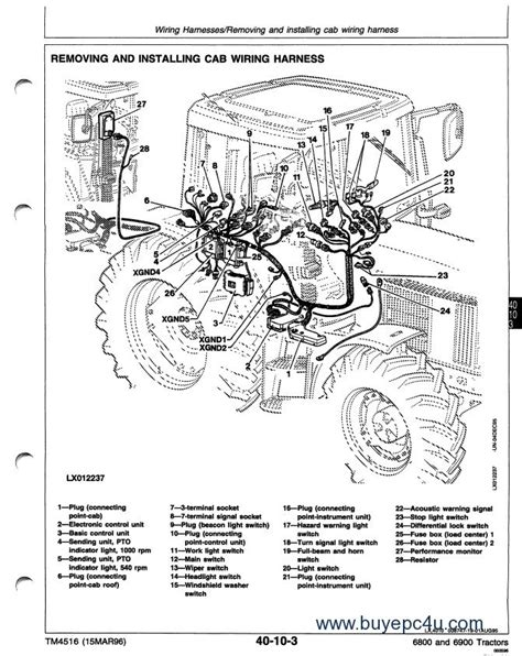 deere 140 h3 wiring diagram deere voltage