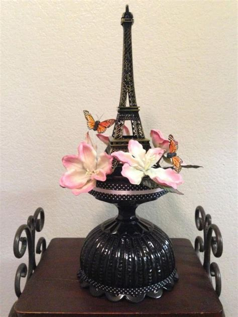 35 Eiffel Tower Table Decorations Ideas Table Decorating Eiffel Tower Flower Centerpieces