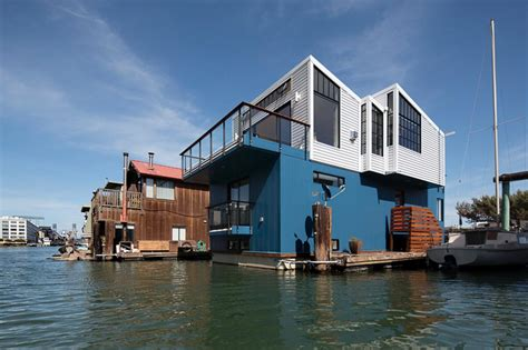 boat house san francisco tiny modern floating house in san francisco fresh faces