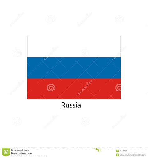 colors of russian flag russia flag official colors and proportion correctly