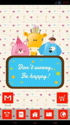 cute themes apk cute animals go theme free apk android app android freeware