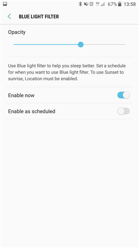 s7 blue light filter what s with nougat part 4 blue light filter banishes