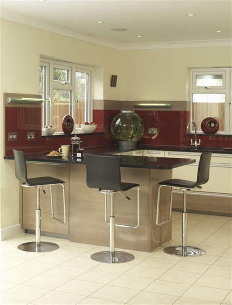 Tiled Kitchen Ideas Peninsula Countertop Photos Design Ideas Remodel And Decor Lonny