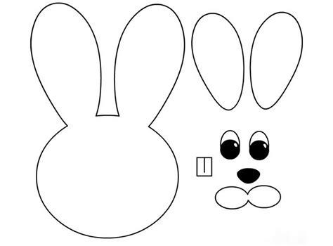 easter bunny paper bag puppet template osterdeko selber machen 50 bastelvorlagen f 252 r ostern zum