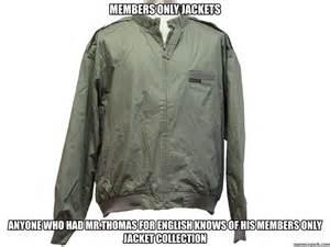 Meme Jacket - members only jackets