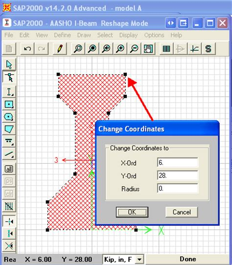 tutorial sap2000 version 11 download create custom sections using polygonal shapes tutorials