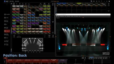 showreel martin m pc light mixingdesk live software