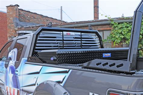 Truck Cab Rack by Zee Dz95050lb Cab Headache Rack Ebay