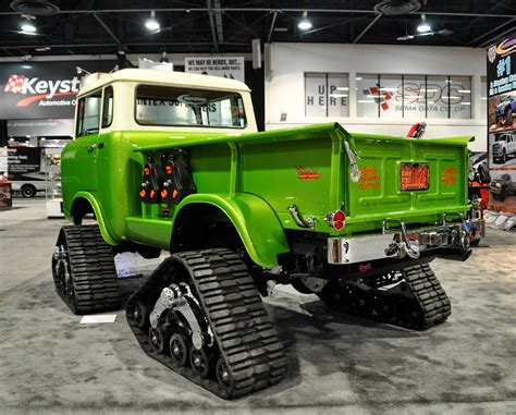 jeep forward sema just a car the green forward jeep at sema