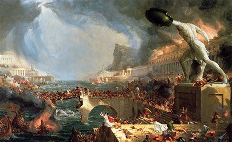the athenaeum the course of empire 4 destruction
