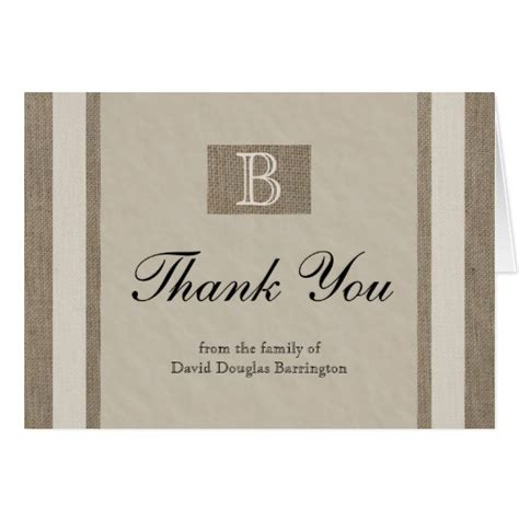 Thank You Notes For Sympathy Cards And Gifts - personalized sympathy thank you note cards zazzle