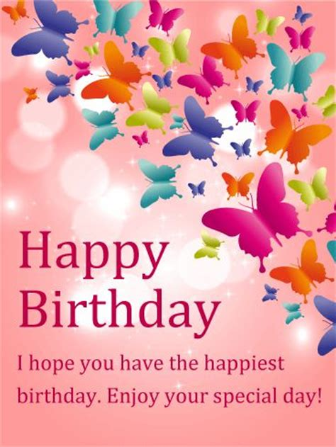 Happy Birthday Card With Message Best 25 Birthday Greetings Ideas On Pinterest Happy