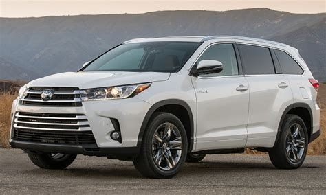 toyota highlander hybrid 2018 2018 toyota highlander hybrid release date review 2018