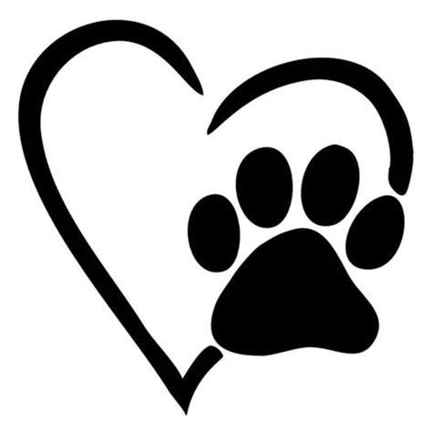 Aufkleber Tierarzt Auto by 12 6 12 7 Cm Ich Liebe Meinen Hund Herz Pfote Autofenster